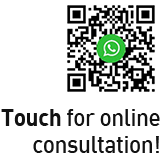 Touch for online consultation!