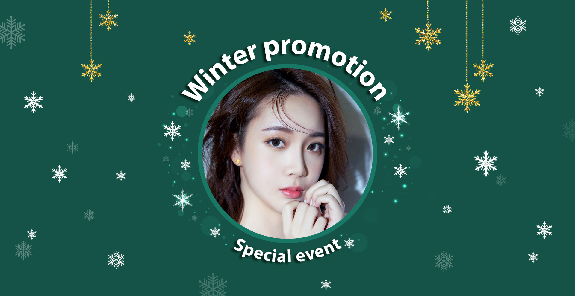 Winter promotion Special event